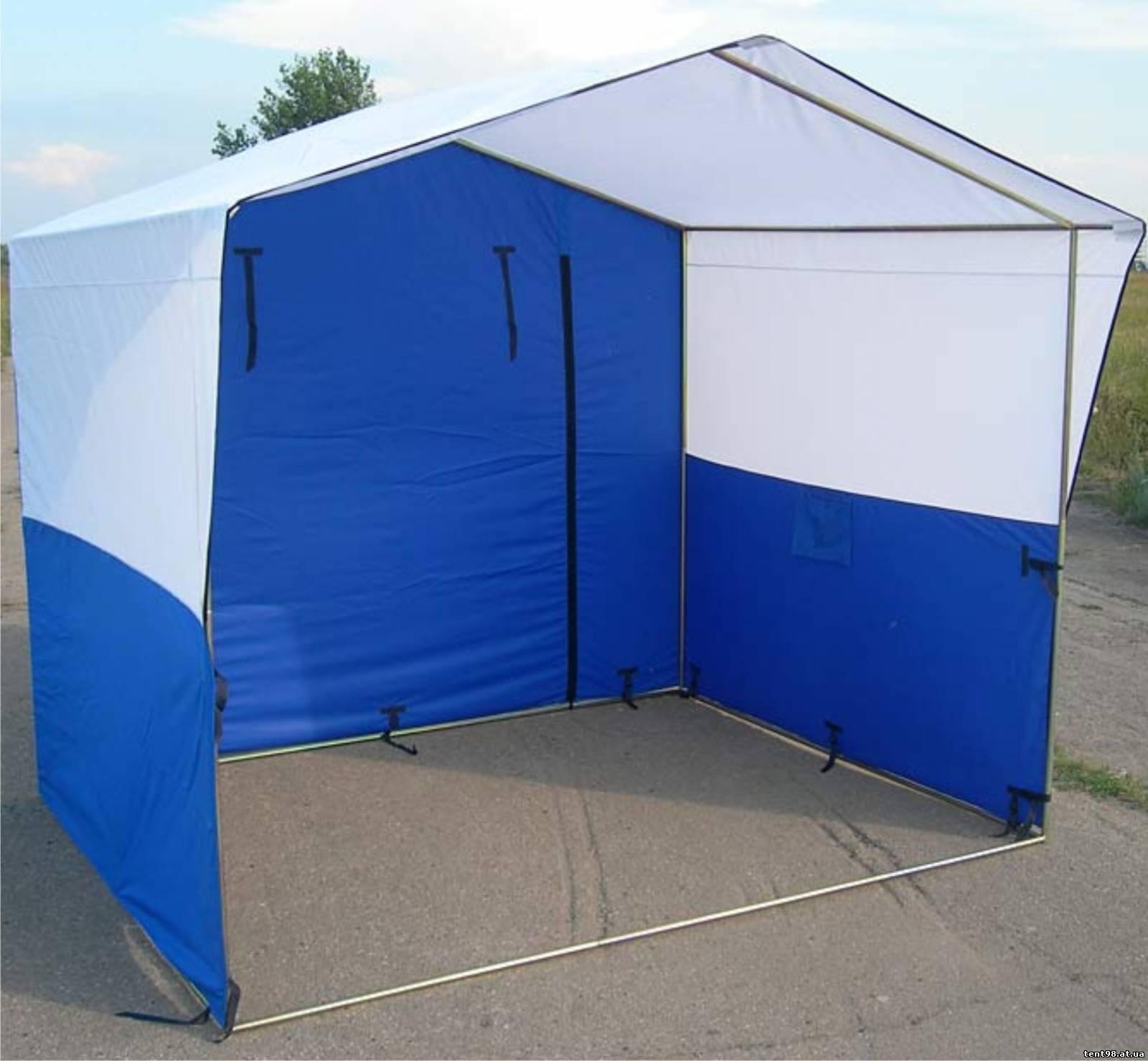 Как сделать палатку торговую своими руками